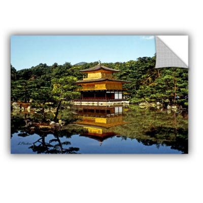 Brushstone Kyoto's Golden Pavilion Removable WallDecal