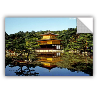 Brushstone Kyoto's Golden Pavilion Removable WallDecal