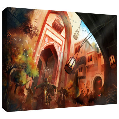 Brushstone Old Times 1 Gallery Wrapped Canvas WallArt