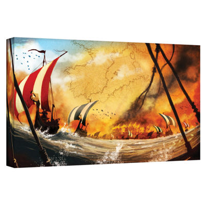 Brushstone Old Times 2 Gallery Wrapped Canvas WallArt