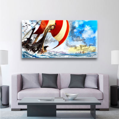 Brushstone Old Times 3 Gallery Wrapped Canvas WallArt