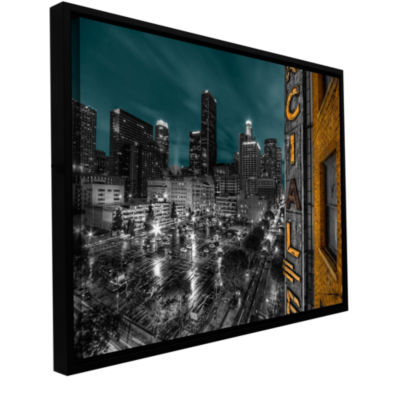 Brushstone L.A. Gallery Wrapped Floater-Framed Canvas Wall Art