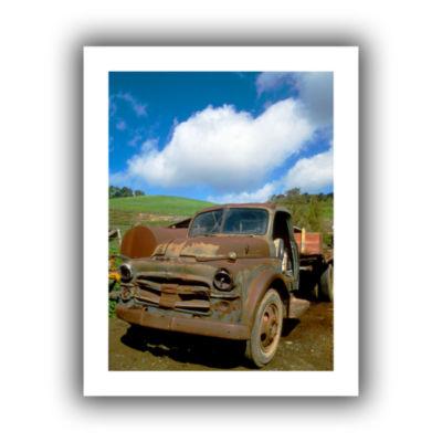 Brushstone Old Truck Canvas Wall Art