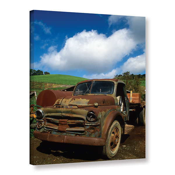 Brushstone Old Truck Gallery Wrapped Canvas Wall Art