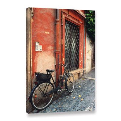 Brushstone La Bicicletta Gallery Wrapped Canvas Wall Art