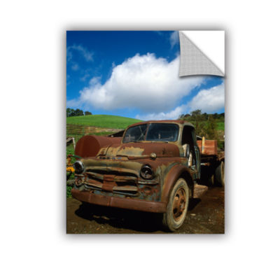 Brushstone Old Truck Removable Wall Decal