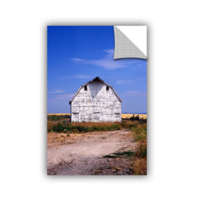 Brushstone Old White Barn Removable Wall Decal