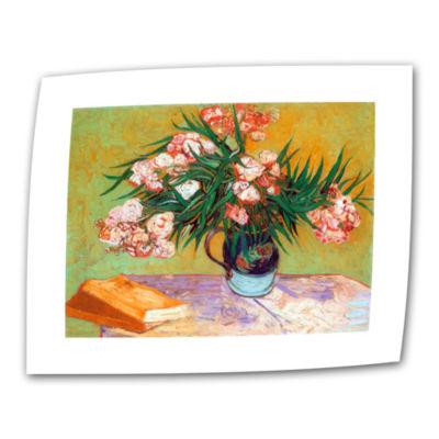 Brushstone Oleander Canvas Wall Art