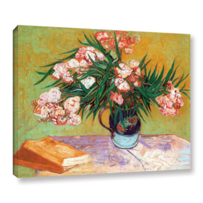 Brushstone Oleander Gallery Wrapped Canvas Wall Art