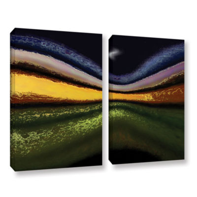 Brushstone La Tierra Al Cielo 2-pc. Gallery Wrapped Canvas Wall Art