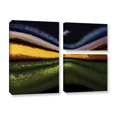 Brushstone La Tierra Al Cielo 3-pc. Flag Gallery Wrapped Canvas Wall Art