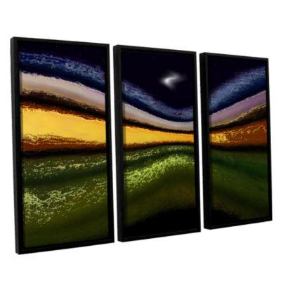 Brushstone La Tierra Al Cielo 3-pc. Floater FramedCanvas Wall Art