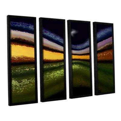 Brushstone La Tierra Al Cielo 4-pc. Floater Framed Canvas Wall Art