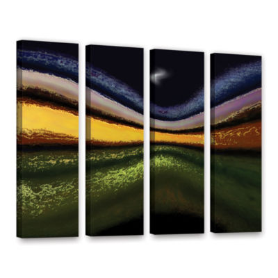 Brushstone La Tierra Al Cielo 4-pc. Gallery Wrapped Canvas Wall Art