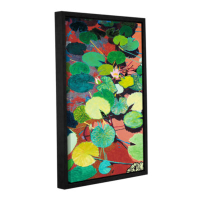 Brushstone Lazy Summer Afternoon Gallery Wrapped Floater-Framed Canvas Wall Art