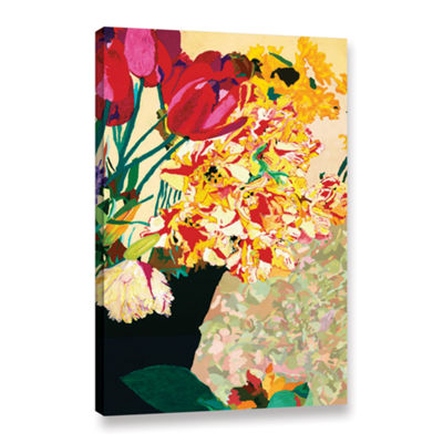 Brushstone Les Fleurs Gallery Wrapped Canvas WallArt