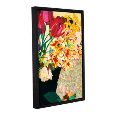Brushstone Les Fleurs Gallery Wrapped Floater-Framed Canvas Wall Art