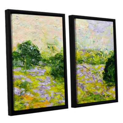 Brushstone Leicester 2-pc. Floater Framed Canvas Wall Art