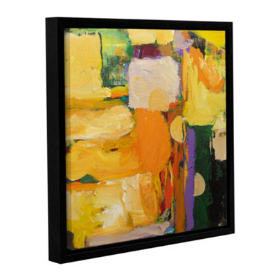 Brushstone Omar Gallery Wrapped Floater-Framed Canvas Wall Art