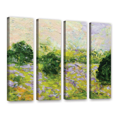 Brushstone Leicester 4-pc. Gallery Wrapped CanvasWall Art