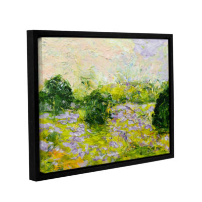Brushstone Leicester Gallery Wrapped Floater-Framed Canvas Wall Art