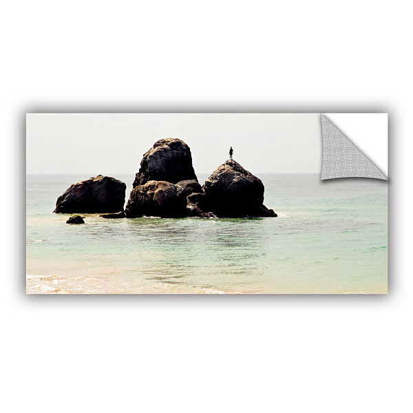 Brushstone On The Rock Removable Wall Decal