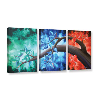 Brushstone Life Journey 3-pc. Gallery Wrapped Canvas Wall Art