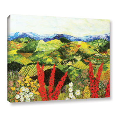 Brushstone One More Step Gallery Wrapped Canvas Wall Art