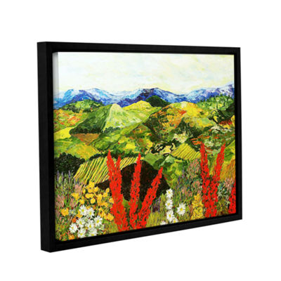 Brushstone One More Step Gallery Wrapped Floater-Framed Canvas Wall Art