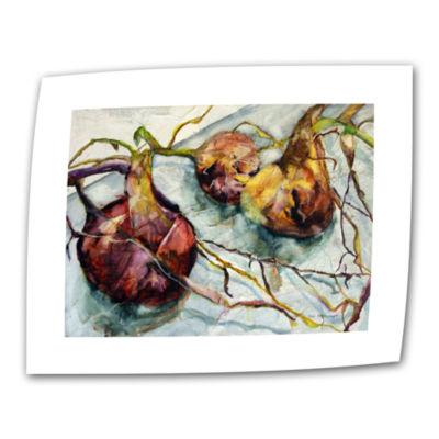 Brushstone Onions Canvas Wall Art
