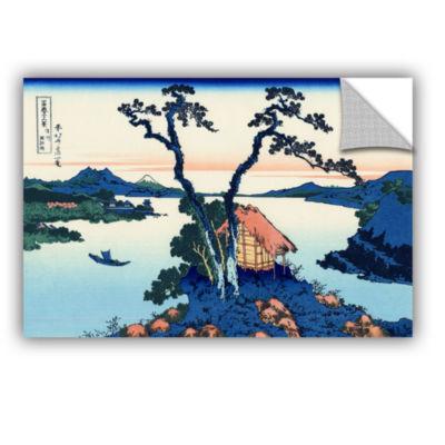 Brushstone Lake Suwa In The Shinano Province Removable Wall Decal