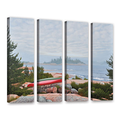 Brushstone Le Hayes 4-pc. Gallery Wrapped Canvas Wall Art