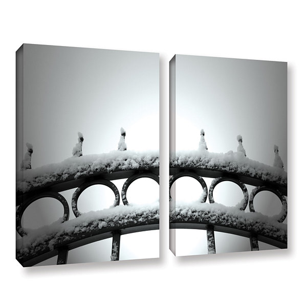 Brushstone Only Opens In 2-pc. Gallery Wrapped Canvas Wall Art