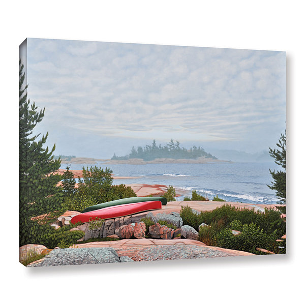 Brushstone Le Hayes Gallery Wrapped Canvas Wall Art