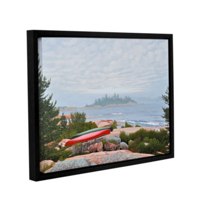 Brushstone Le Hayes Gallery Wrapped Floater-FramedCanvas Wall Art