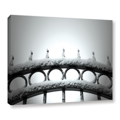 Brushstone Only Opens In Gallery Wrapped Canvas Wall Art