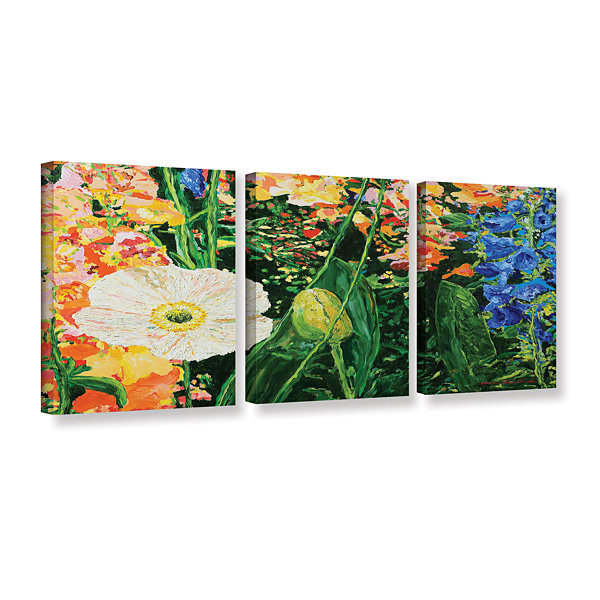 Brushstone Only Pick The Best 3-pc. Gallery Wrapped Canvas Wall Art