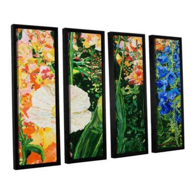 Brushstone Only Pick The Best 4-pc. Floater FramedCanvas Wall Art