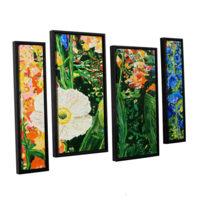 Brushstone Only Pick The Best 4-pc. Floater FramedStaggered Canvas Wall Art