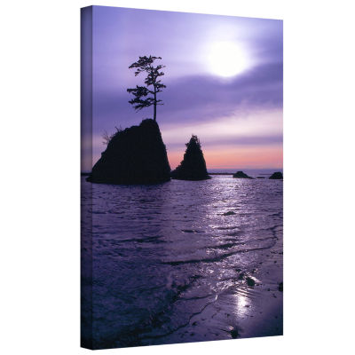 Brushstone Only The Strong Gallery Wrapped CanvasWall Art