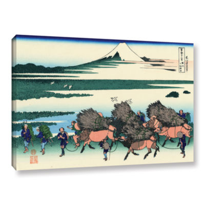 Brushstone Ono Shindon In The Suraga Province Gallery Wrapped Canvas Wall Art