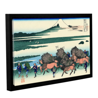 Brushstone Ono Shindon In The Suraga Province Gallery Wrapped Floater-Framed Canvas Wall Art