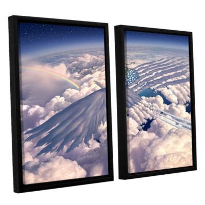 Brushstone Onward 2-pc. Floater Framed Canvas Wall Art
