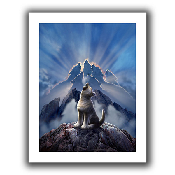 Brushstone Leader Of The Pack Canvas Wall Art