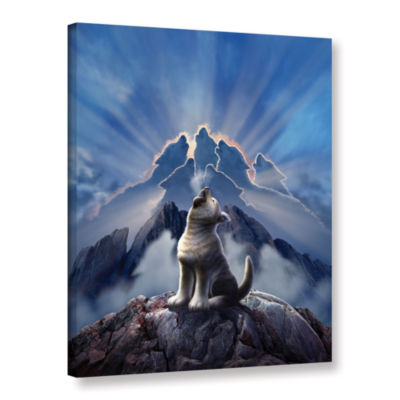 Brushstone Leader Of The Pack Gallery Wrapped Canvas Wall Art