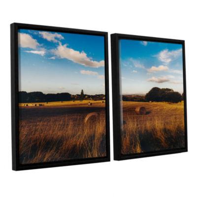 Brushstone Open Fields 2-pc. Floater Framed CanvasWall Art