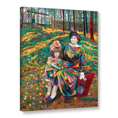 Brushstone Liesje And Wilhemina Van Dam Gallery Wrapped Canvas Wall Art