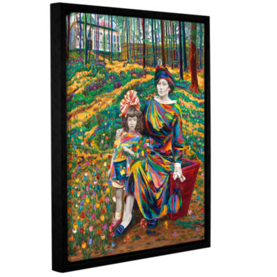Brushstone Liesje And Wilhemina Van Dam Gallery Wrapped Floater-Framed Canvas Wall Art