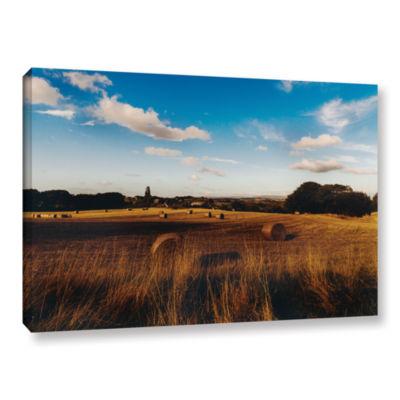 Brushstone Open Fields Gallery Wrapped Canvas WallArt