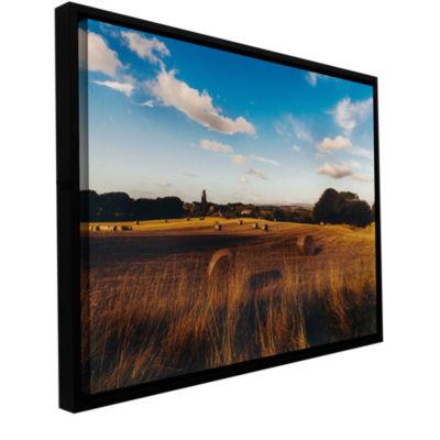 Brushstone Open Fields Gallery Wrapped Floater-Framed Canvas Wall Art